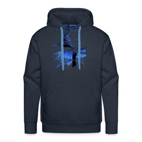 Ein Ort (blau) - Männer Premium Hoodie