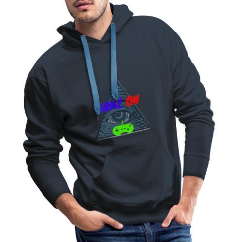 GAME ON - Sudadera con capucha premium para hombre