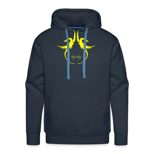 yellow-dragon-dance_01 - Männer Premium Hoodie
