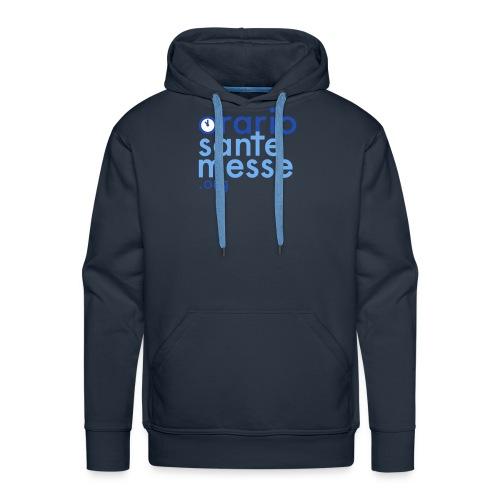 Orario Sante Messe T-shirt front - Felpa con cappuccio premium da uomo