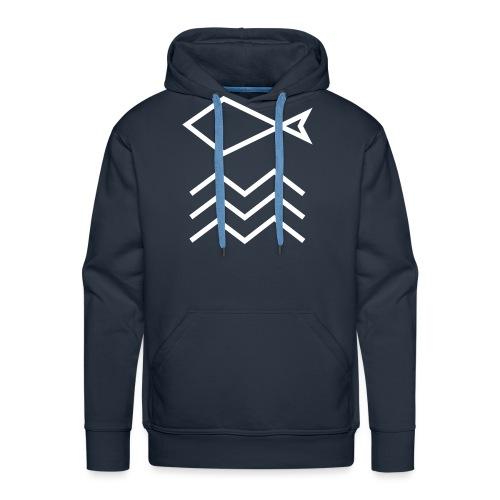 FISH&WAVE - Herre Premium hættetrøje