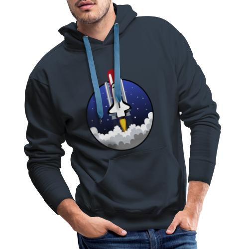 The Space Shuttle - Men's Premium Hoodie