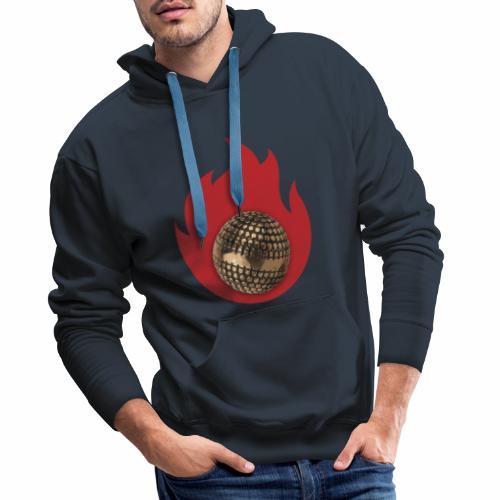 petanque fire - Sweat-shirt à capuche Premium pour hommes