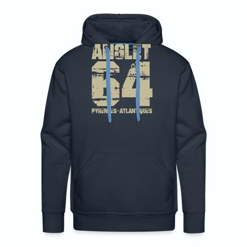 Aquitaine Pyrénées Atlantiques 64 Anglet - Sweat-shirt à capuche Premium pour hommes