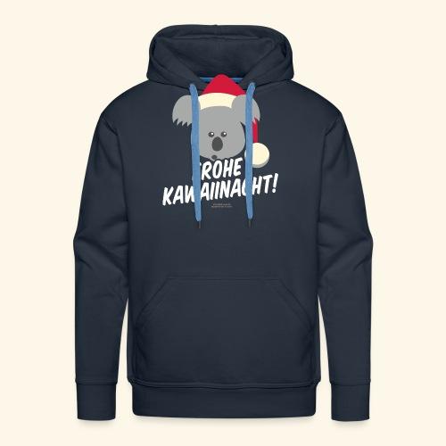 Ugly Christmas Kawaiinacht für Weihnachten - Männer Premium Hoodie