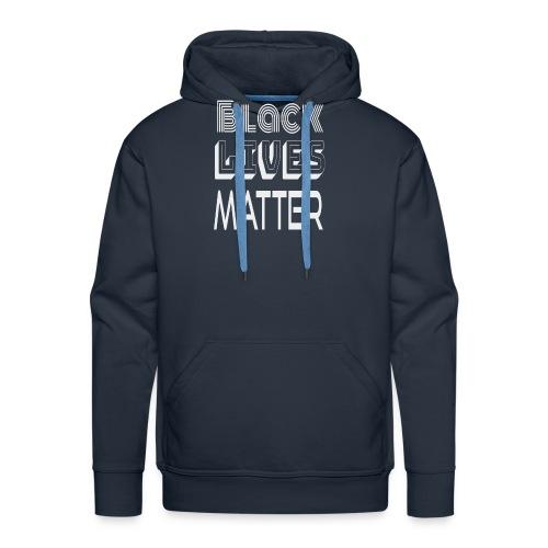 Black Lives Matter T-Shirt - Felpa con cappuccio premium da uomo