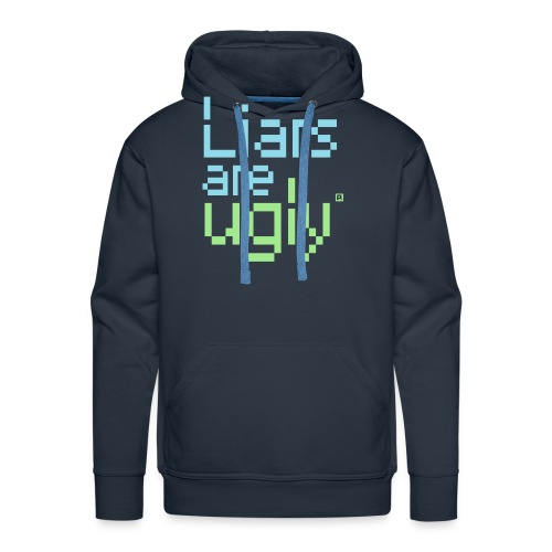Liars Are Ugly - Mannen Premium hoodie