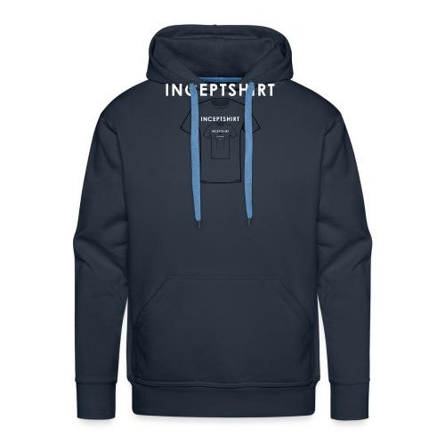 Inceptshirt - Sweat-shirt à capuche Premium pour hommes