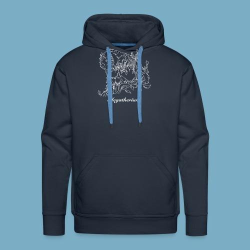 Faultier shirt woman - Männer Premium Hoodie