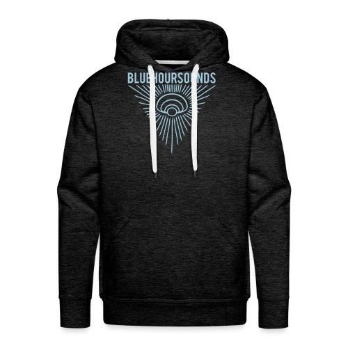 New Blue Hour Sounds logo triangle - Men's Premium Hoodie