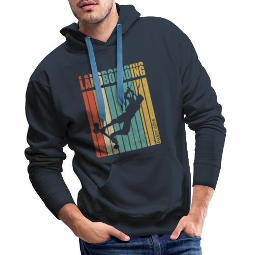 Kite Landboarding Ouest Côte - Sweat-shirt à capuche Premium pour hommes