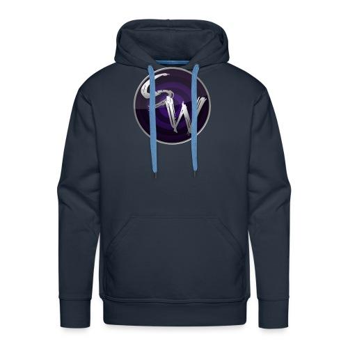 c4 spining png - Mannen Premium hoodie