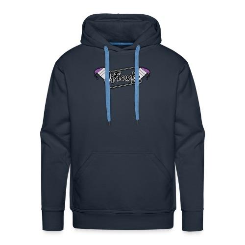 MrFlowKy - Sweat-shirt à capuche Premium pour hommes