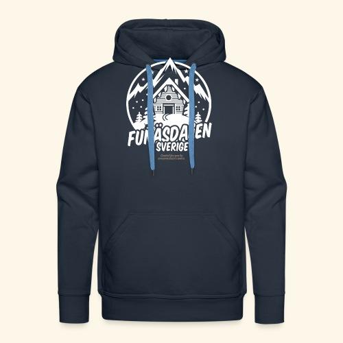 Funäsdalen Sverige Ski Resort T Shirt Design - Männer Premium Hoodie