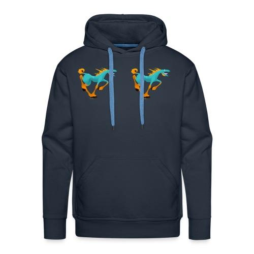 bete - Sweat-shirt à capuche Premium pour hommes