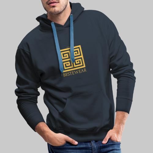 #Bestewear - Golden Snake - Männer Premium Hoodie