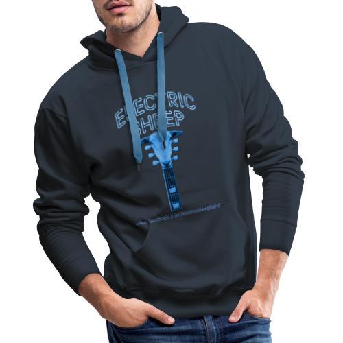 Electric Sheep Head Stock Logo - Men's Premium Hoodie