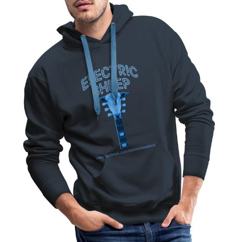 Electric Sheep Head Stock Logo - Men's Premium Hoodie