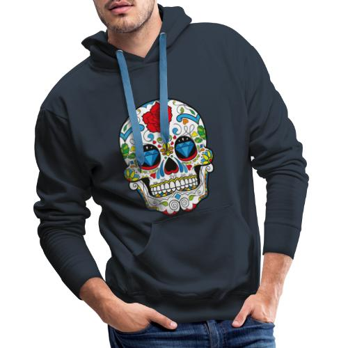 Totenkopf Abstrakt - Männer Premium Hoodie
