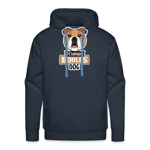 Boules Dog T-Shirt - Sweat-shirt à capuche Premium pour hommes