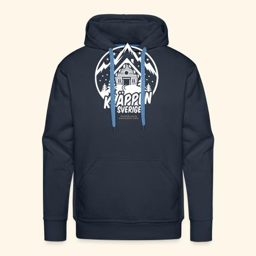 Kläppen Sälen Sverige Ski Resort T Shirt Design - Männer Premium Hoodie