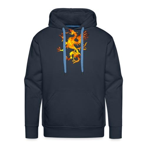 Viking Dragon Symbol Blood Norse Vikings Gift - Sweat-shirt à capuche Premium pour hommes