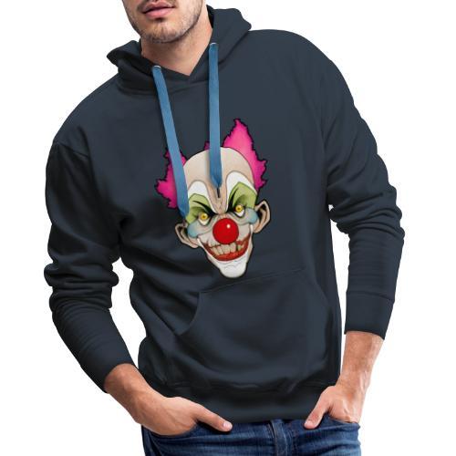 clown - Sweat-shirt à capuche Premium pour hommes