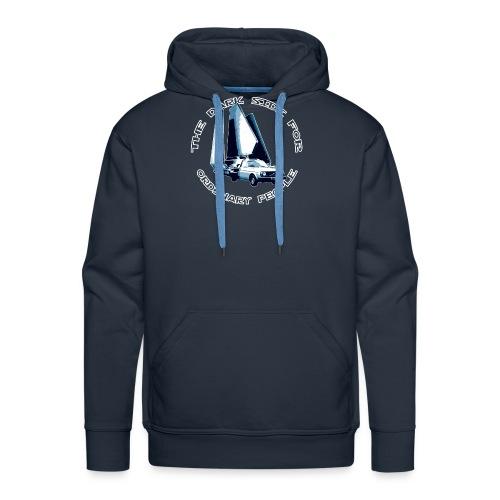 Imperial Shuttle blue - Felpa con cappuccio premium da uomo