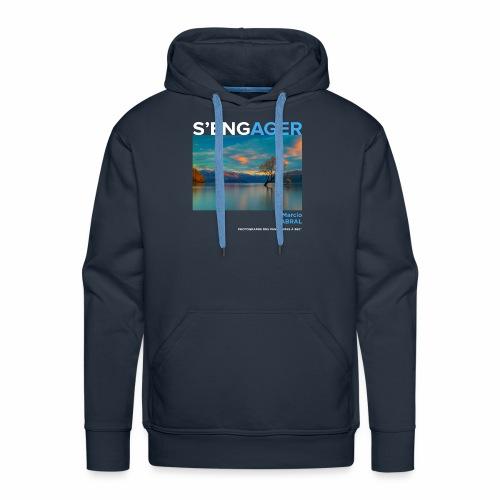 1 Achat = 1 Don à la Fondation Nicolas Hulot - Sweat-shirt à capuche Premium pour hommes