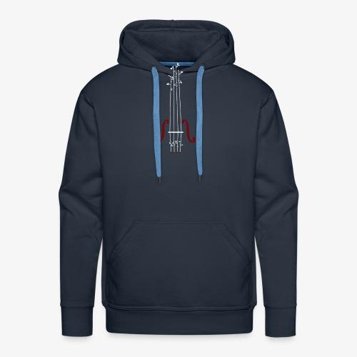 Viool Design - Mannen Premium hoodie