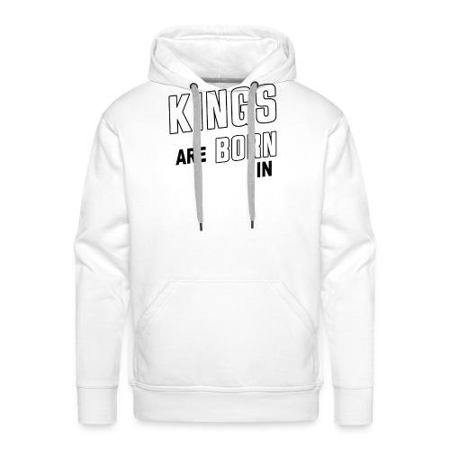 KINGS ARE BORN IN APRIL - Männer Premium Hoodie