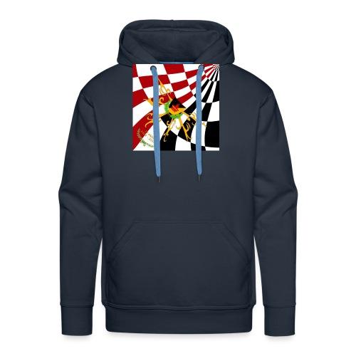Spilla Flag - Felpa con cappuccio premium da uomo