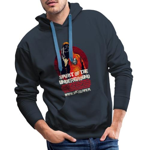 Spirit Of The Underground - Bluza męska Premium z kapturem
