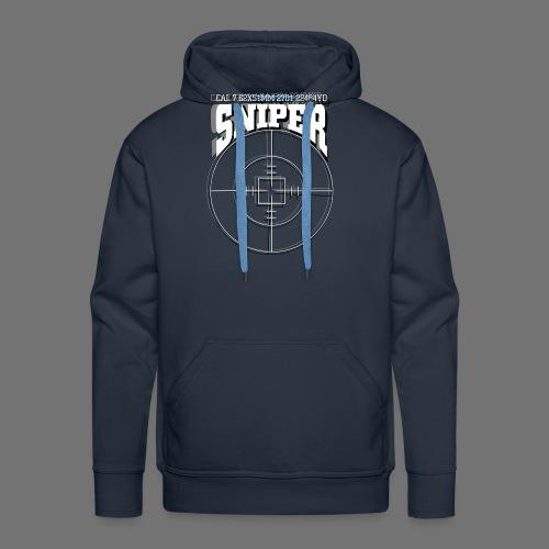 Sniper (white) - Männer Premium Hoodie