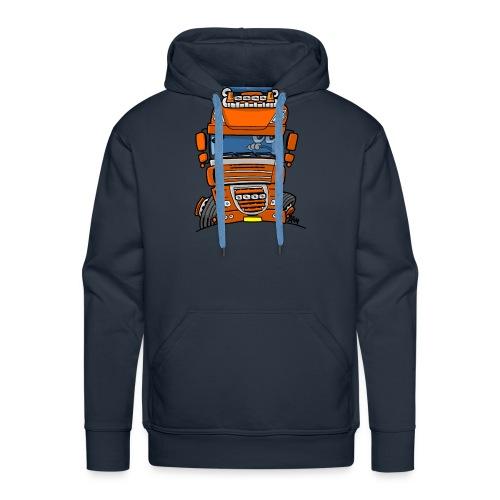 0793 D truck - Mannen Premium hoodie