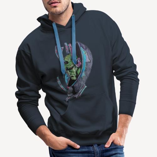 Brainiac - Sweat-shirt à capuche Premium pour hommes