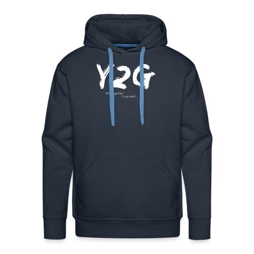 Y2G - Sweat-shirt à capuche Premium pour hommes