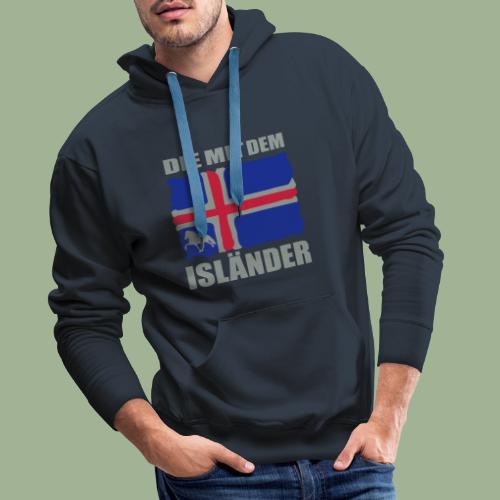Die mit dem Isländer - Männer Premium Hoodie