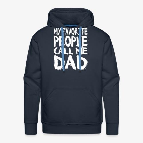 Call me DAD Vatertag Geschenk - Männer Premium Hoodie