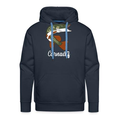 brochet carnactif - Sweat-shirt à capuche Premium pour hommes
