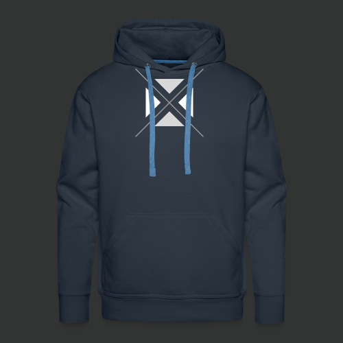 hipster triangles - Men's Premium Hoodie