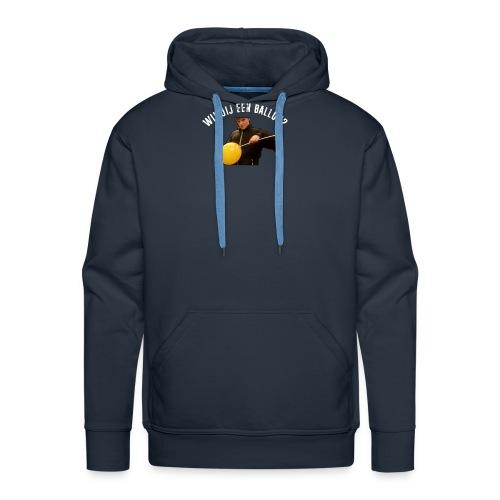 Official PanaPunch Shirt - Wil jij een ballon? - Mannen Premium hoodie