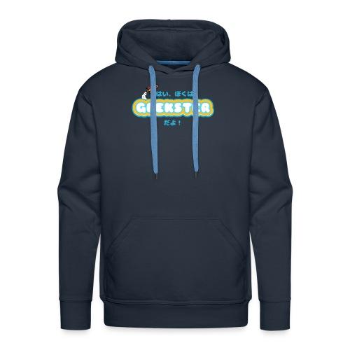 Hai, boku wa Geekster da yo! - Mannen Premium hoodie