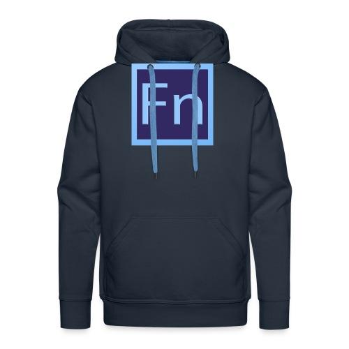 zaino con logo di falsonome - Felpa con cappuccio premium da uomo