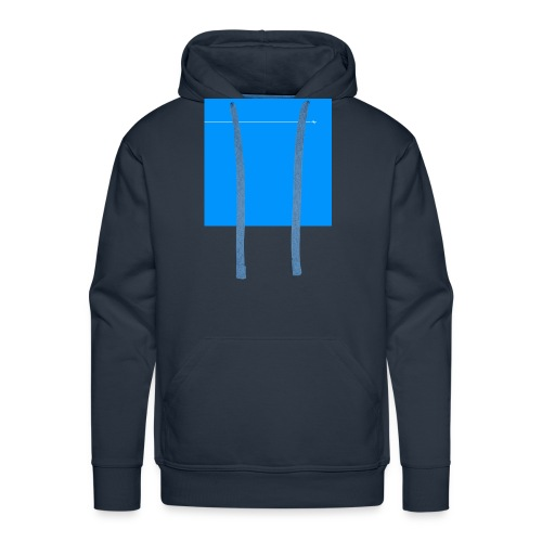 sklyline blue version - Sweat-shirt à capuche Premium pour hommes