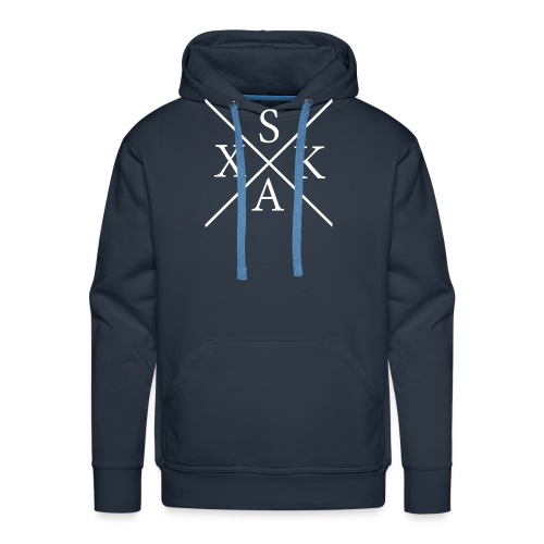 skax   LineCircle - Männer Premium Hoodie