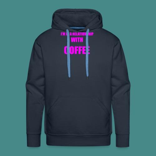 Coffe Relationship - Men's Premium Hoodie