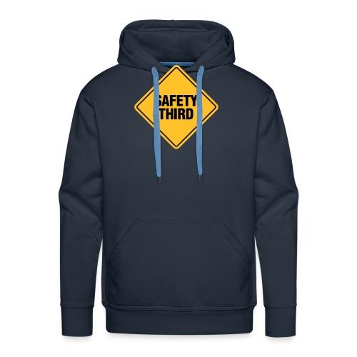 SAFETY THIRD - Men's Premium Hoodie