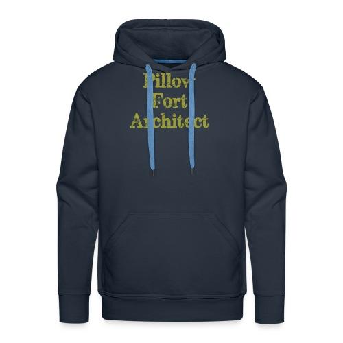 Pillow Fort Architect - Men's Premium Hoodie