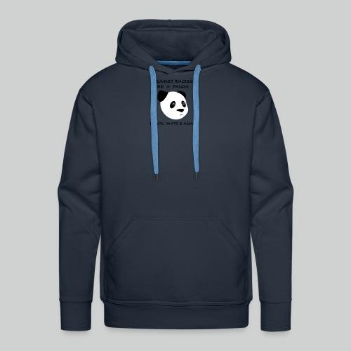 Against Racism Panda - Männer Premium Hoodie